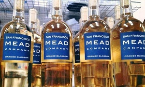 The San Francisco Mead Company: 1-Hour Meet the Maker Tasting Tour for 2 or 4 with Souvenir Glasses at The San Francisco Mead Company (Up to 39% Off)