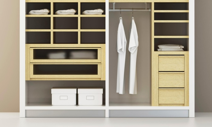 Brownstone Closets - Brownstone Closets: Three Hours of Home Organization Services from Brownstone Closets (45% Off)
