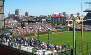 Cubs NLCS Playoff Game 7 vs. Dodgers at Wrigley View Rooftop: Chicago Cubs Rooftop NLCS Playoff Ticket with Unlimited Food and Drinks with Unobstructed Views (October 23)