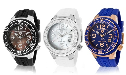 Swiss Legend Neptune Unisex Watches from $49.99–$59.99