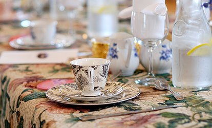 image for 9-Course Afternoon Classic  High Tea for Two or Four at Cedarhurst Mansion (33% Off)