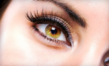Just a Touch Synthetic or Silk Eyelash Extensions at Lashes 2 Lashes (Up to 50% Off)