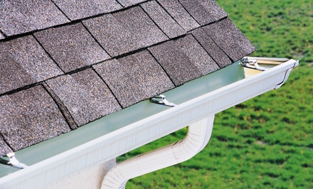 Gutter Cleaning from Sampaio Services Company (Up to 53% Off). Three Options Available.