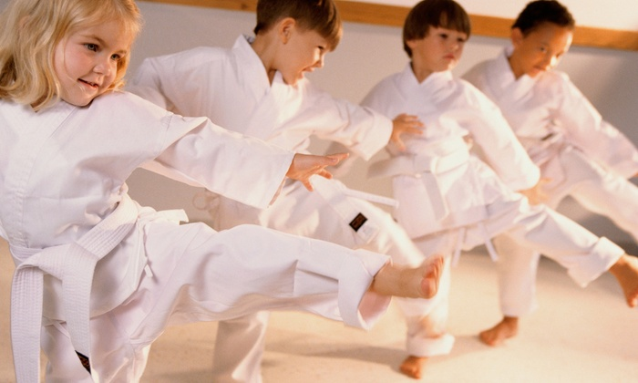 Kickin' It Karate - Bradenton: One or Two Months of Kids' Karate Lessons and Optional Uniform at Kickin' It Karate (Up to 57% Off)