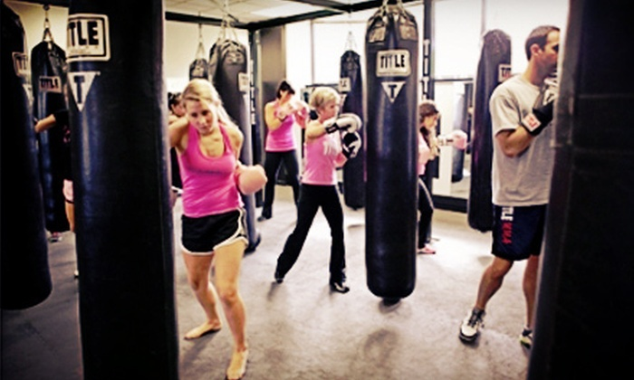 Title Boxing Club - Edmond: Two Weeks of Boxing and Kickboxing Classes at Title Boxing Club (66% Off)