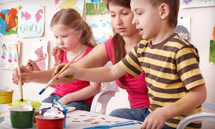 abc ART - Alcoa: One, Two, or Four Children's Step-By-Step Painting Classes at abc Art (Up to 54% Off)