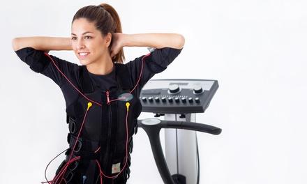 4 o 6 sesiones de electroestimulación muscular con entrenador personal desde 49 € en Alcorcón y Toledo
