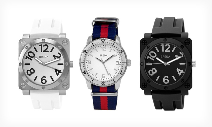 Breda Men's Watches: Breda Men's Watch (Up to 55% Off). 14 Designs Available. Free Shipping and Returns.