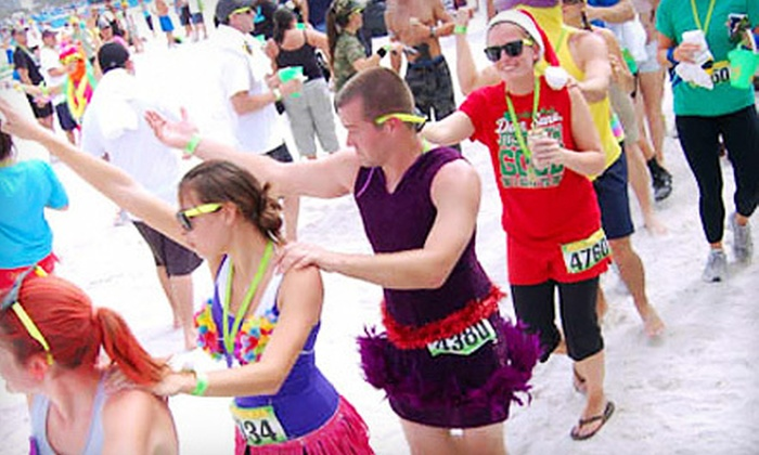 Beach Dash - Long Beach: $30 for Entry to the Beach Dash 5K Obstacle-Course Race on Saturday, June 16, in Long Beach ($60 Value)