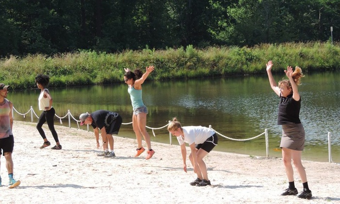 Fit & Us 1-on-1 Beach Training - Stone Mountain: Four Weeks of Fitness and Conditioning Classes at Beach Body Boot Camp (65% Off)