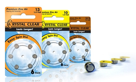 60-Pack of Hearing-Aid Batteries. Multiple Sizes Available. Free Returns.