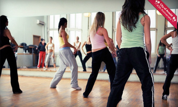 Studio C Dance with Debbi Georgevitch - Arnold: 5 or 10 Zumba Classes at Studio C (Up to 56% Off)