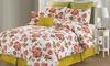 8-Piece Printed Comforter Sets