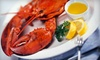 Caffe Regatta Oyster - Pelham: Oyster or Lobster Dinner with Champagne for Two at Caffe Regatta Oyster Bar & Grill in Pelham (Up to 60% Off)