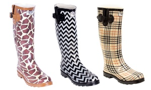 Women's Design Rain Boots: Women's Design Rain Boots