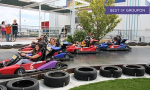 Las Vegas Mini Gran Prix: Two-Hour Go-Kart, Ride, and Meal Package for One or Two at Las Vegas Mini Gran Prix (Up to 48% Off)