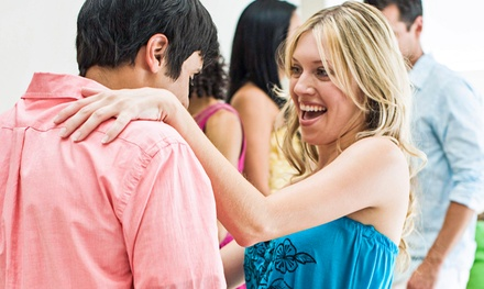 Private Dance Lesson and Practice Party or Two Private Lessons with Optional Parties (81% Off)