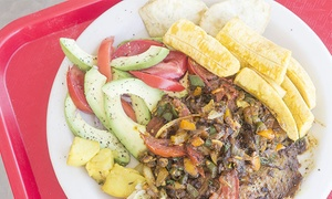 Olive Green International Cuisine: Up to 46% Off African Food at Olive Green International Cuisine
