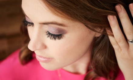 Half or Full Set of Eyelash Extensions from Lashes on Broadway (Up to 57% Off)