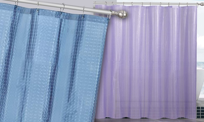 799 For A Victoria Classics Cube 3D EVA Shower Curtain