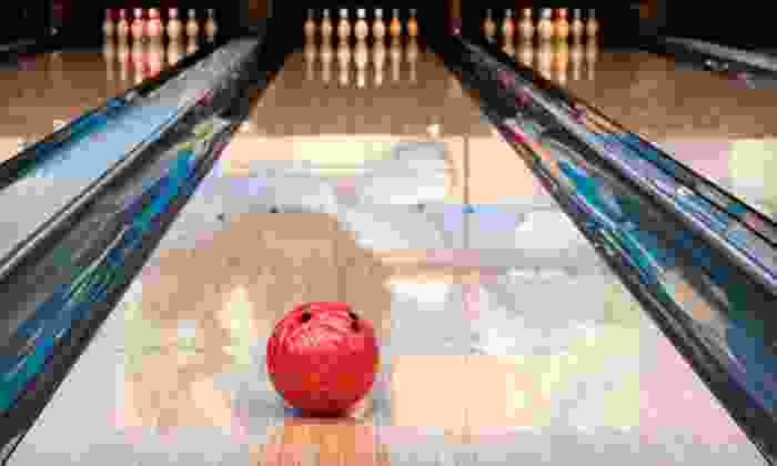 Legion Bowl & Billiards - Cranston: Bowling for Four with or without Pizza and Soda at Legion Bowl & Billiards in Cranston (Up to Half Off)