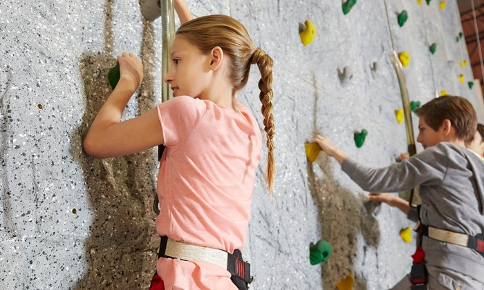The Rock Gem Climbing Center - Rock Gem Climbing Center: Day Pass for Two or Four, with Harness Rental and Belay Class at The Rock Gem Climbing Center (Up to 61% Off)