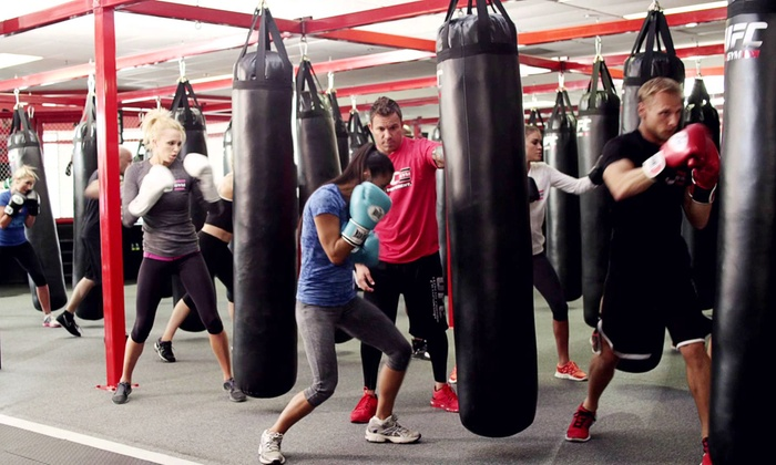 UFC Gym - Blue Diamond: Month of Fitness Classes and Gym Access for One or Two at UFC Gym (Up to 88% Off)