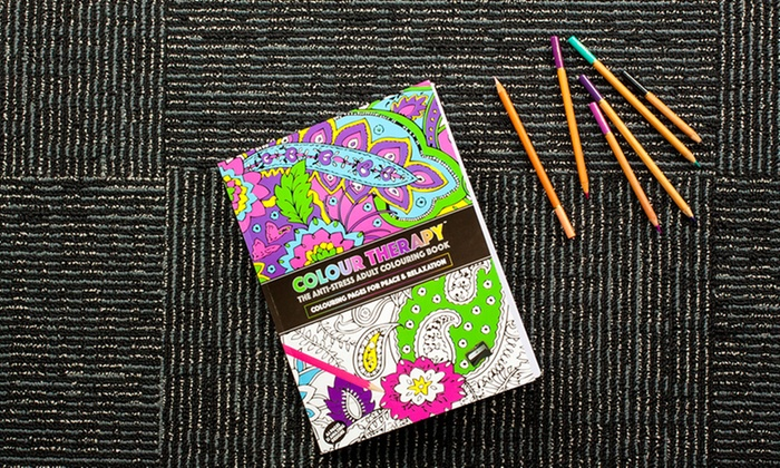 Adult Anti Stress Therapy Coloring Book