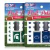 NCAA Nail Polish and Nail Decal Set (3-Piece)