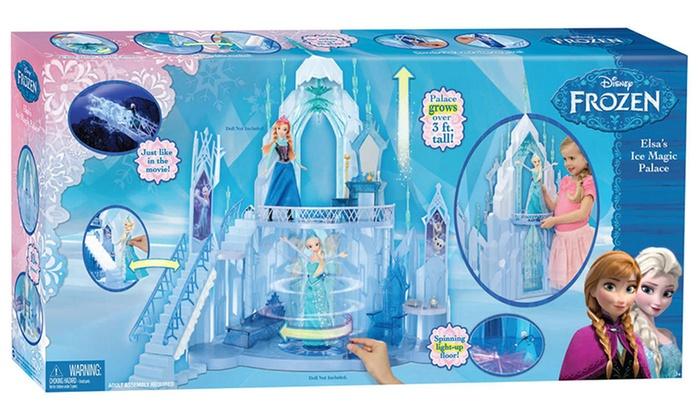 Disney frozen elsa 39 s ice palace groupon goods - Palais de glace reine des neiges ...