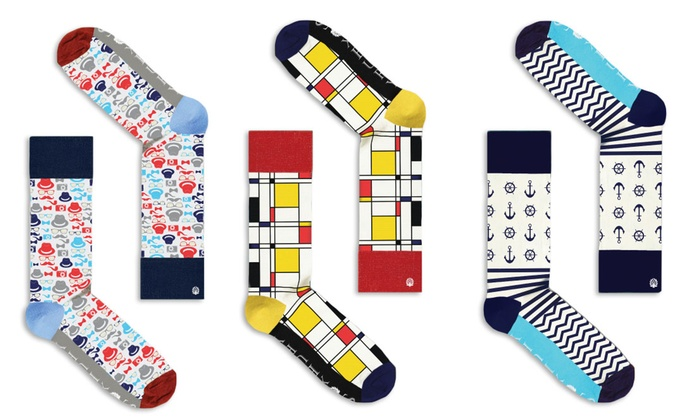 SOXBURY: $22 for Four Pairs of Men's Socks from Soxbury ($68 Value)