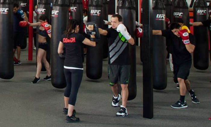 UFC Gym - Multiple Locations: Two-Week Membership or One-Month Membership with Training Session at UFC Gym (Up to 66% Off)