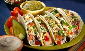 Taco Masala: Menú mexicano para 2 o 4 con entrante, principal, postre, bebida y opción a margarita desde 19,95 € en Taco Masala