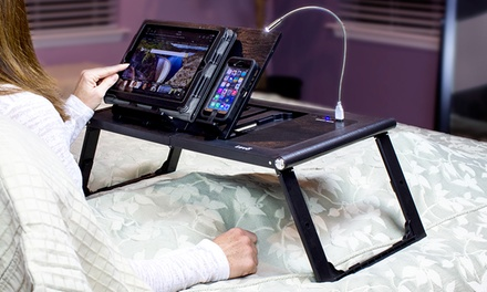 Levo Tablet Bed Table Groupon Goods