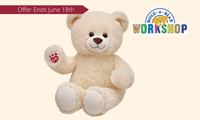 Build-A-Bear Workshop - Multiple Locations: $10 for a Lil Buttercream Cub Teddy Bear at Build-A-Bear Workshop, 19 Locations (Up to $16 Value)