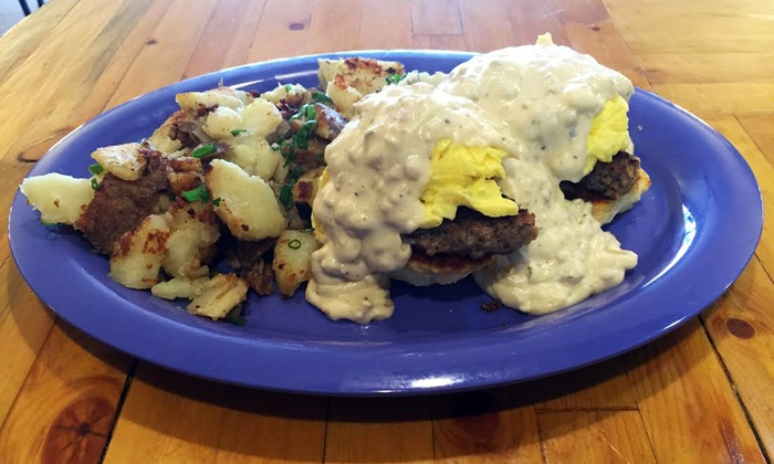 Cafe AK - Spenard: $11 for $20 Worth of Breakfast, Lunch, and Homemade Dessert for Two or More at Cafe AK