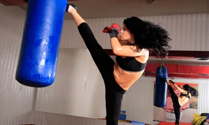 Personal Best Karate: 5 or 10 Kickboxing Classes at Personal Best Karate (Up to 81% Off)