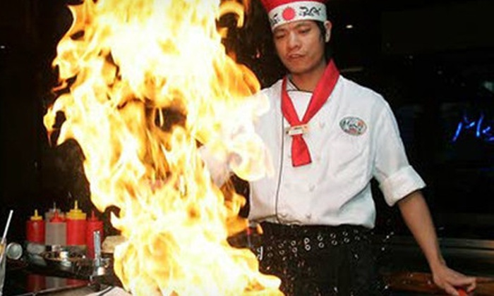 Geisha Japanese Steakhouse & Sushi Bar - West Chester: $15 for $30 Worth of Modern Japanese Cuisine at Geisha Japanese Steakhouse & Sushi Bar