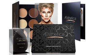 Aesthetica Cosmetics Cream Contour Kit With Optional Beauty Sponge