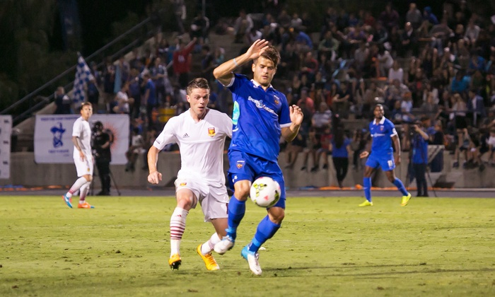 Orange County Blues - Anteater Stadium - UC Irvine: $10 for One Ticket to an Orange County Blues Soccer Match at Anteater Stadium ($18.55 Value). Four Games Available