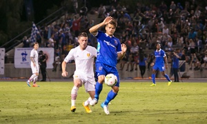 Orange County Blues: $10 for One Ticket to an Orange County Blues Soccer Match at Anteater Stadium ($18.55 Value). Three Games Available