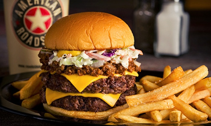 American Roadside - Barclay Downs: $ 6 for $ 12 Worth of Burgers and American Food at American Roadside