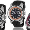 Calibre Men's Fabian Chronograph Quartz Watch