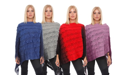 Women's Ombre Poncho