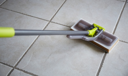 C$185 for Up to 700 Total Square Feet of Tile and Grout Cleaning from Aladdin Home Care (C$570 Value)