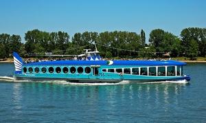 MS Moby Dick: Adventsfahrt für 2 Personen mit Live Musik zwischen Bonn und Königswinter an 10 Terminen zur Wahl (50% sparen)