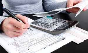 Income Tax Solutions: Basic Federal and State Tax Return for a Single Filer or Married Couple at Income Tax Solutions (Up to 64% Off)