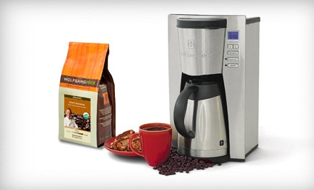 USD 79 for a Wolfgang Puck 12-Cup Coffeemaker Groupon
