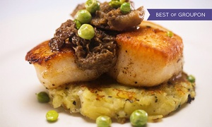 Bistro Ten 18: $39 for an Upscale American Dinner for Two at Bistro Ten 18 (Up to $88 Value)