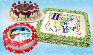 Marble Slab Creamery: Ice Cream Cake at Marble Slab Creamery (Up to 26% Off). Three Options Available.